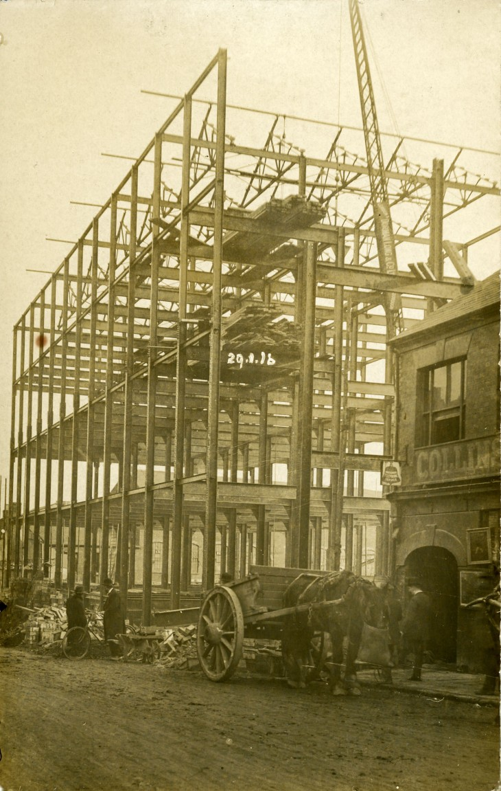 Hotchkiss Factory Construction 1915
