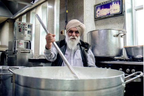 Simran Vim. Guru Nanak Parkash Gurdwara