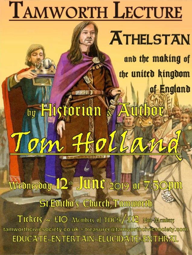 POSTER Tom Holland Lecture 2019 06 12