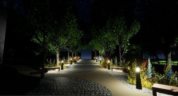 0_Unity-Lawn-at-night
