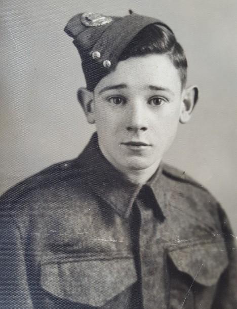 Dennis as a young man a